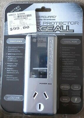 Surge Protector- Powerguard, Limited Edition! BRAND NEW!! For notebooks&OStravel