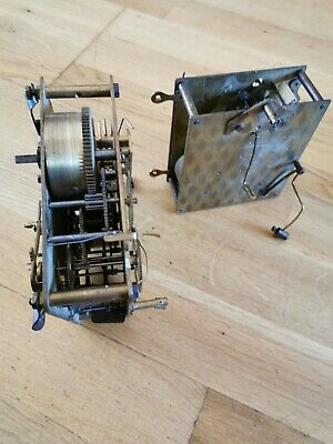 Two Clock Movements For Spares Or Repairs.