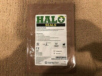 Halo Chest Seals 2 Per Package Occlusive Penetrating Chest Wound Injury Bandage