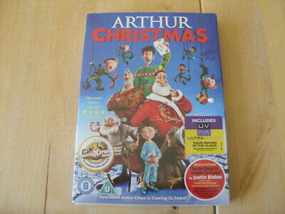 Arthur Christmas (DVD, 2013) NEW - SEALED - With Slipcover