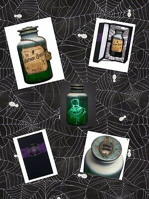 New Disney Haunted Mansion 50th Anniversary Host a Ghost Hatbox Ghost Spirit Jar