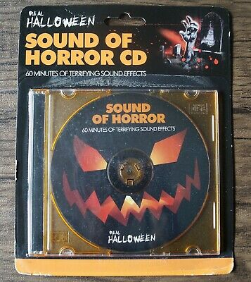 Sounds Of Halloween Spooky Horror Creep Scary Party Soundtrack Cd 2019