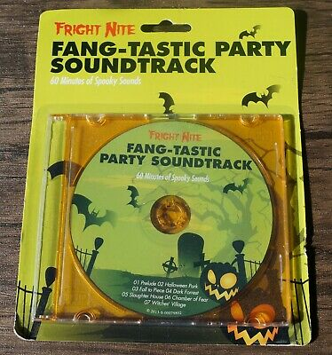 Sounds Of Halloween Spooky Horror Creep Scary Party Soundtrack Cd New