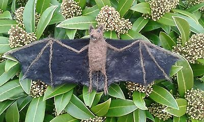 Bat Needle Felt Kit British rare breed wool UNBOXED WULYDERMY