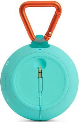 JBL Clip 2 Waterproof Portable Bluetooth Speaker - Teal