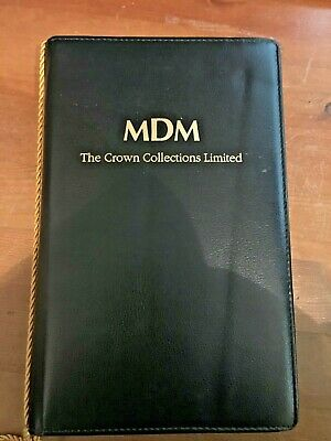 Mdm Smallest Gold Coins Of The World Folder For Certificates