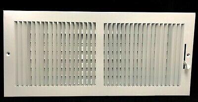 "22 "" x 10"" RETURN FILTER GRILLE - Easy Air Flow. Flat Stamped Face White"