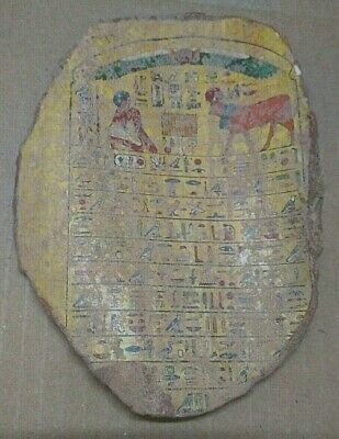 RARE ANCIENT EGYPTIAN ANTIQUE HARVEST Pottery Fragment 1580-1335 BC