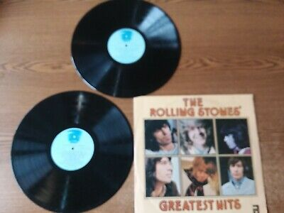 1977 EXCELLENT 2 LPS & VG+COVER The Rolling Stones' Greatest Hits DVL2-0268 LP33
