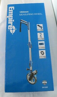 EMPIRE 150mm MEASURING WHEEL ~ 1/3rd FOLDING ~ CARRY BAG INCLUDED ~ BOXED