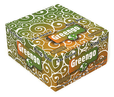 Greengo King Size Regular rolling paper x 50 booklets x 33 = 1650 papers