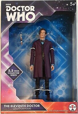 Doctor Who Matt Smith Figure Purple Jacket 11th Dr New Sealed Rare MISP