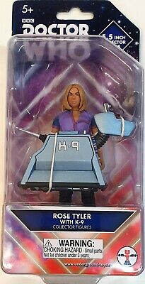 Dr Doctor Who Rose Tyler and K9 Figure Twin Pack New Sealed MISP Rare