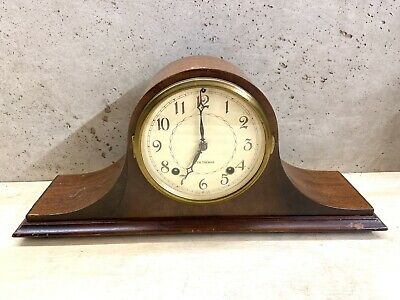 Seth Thomas Staunton 8-day Mantle Clock FOR PARTS NOT WORKING