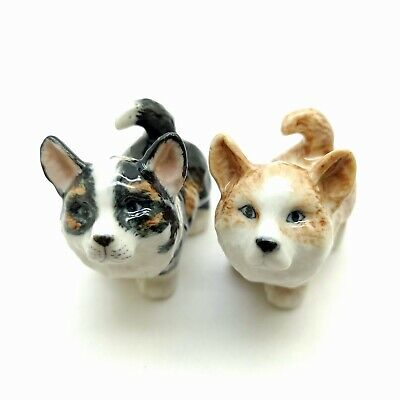 Corgi Dog Figurine Ceramic Animal Miniature Baby Statue - CDG229