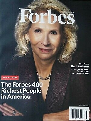 Forbes Magazine 400 Richest People In America October 31St 2019 Brand New