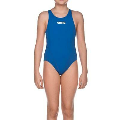 Arena G Solid Swim Tech Junior Costume Sportivo 14-15, Blu (Royal-White)