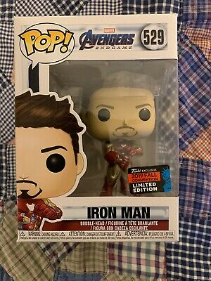 Funko Pop IRON MAN GAUNTLET Avengers Endgame NYCC 2019 SHARED Exclusive IN HAND