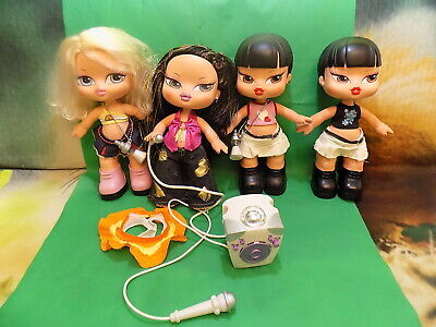 Large Bratz Babyz Dolls Bundle 4 Dolls Included