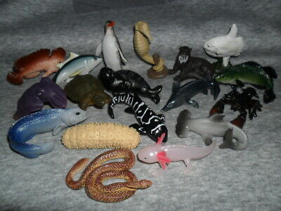 Yowies Wild Water Series / Full Set Of 18 Animals Full Papers/Buy Them All Cheap