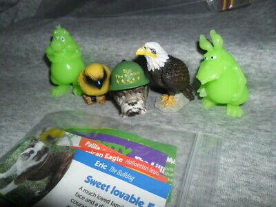 Yowies Ranger Series / Very Rare Extras Set Of 5 Yowies All With Papers