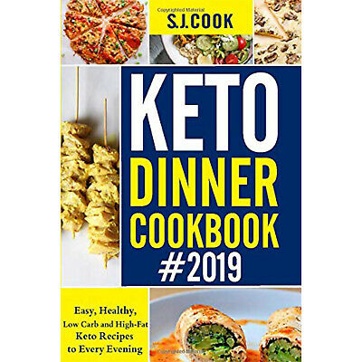 Keto Diet Dinner Cookbook Weight Loss Ketogenic Recipes Beginners Book Paperback