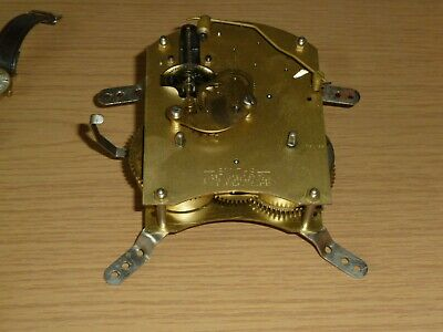 Smiths Floating Balance rear wind clock Movement F6M 28 for spares