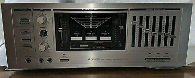 Pioneer CA100 Equalizer Mixer Tape Recorder Signal Processor Vintage Stereo