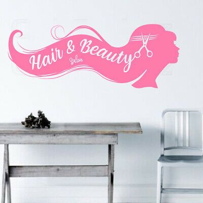HAIR SALON Shop Sticker Hairdressers Beauty Salon shop Retail