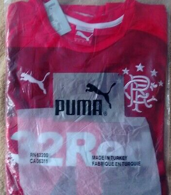 Rangers.. Puma-32Red..2014-2015..Away Shirt Size Large..bnwt