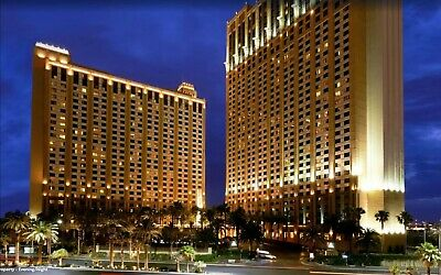 New Years in Las Vegas On the Strip Hilton Grand Vacations Club HGVC
