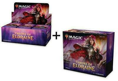 THRONE OF ELDRAINE Booster Box + Bundle MTG Magic IN STOCK  FREE PRIORITY SHIP