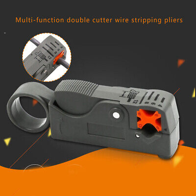 Rotary Coax Coaxial Cable Cutter Tool Stripper Wire Rotary Cutter