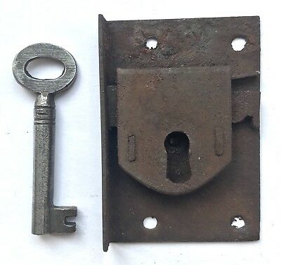 Lovely Flush Steel Antique Long Case Grandfather Clock Lock And Key