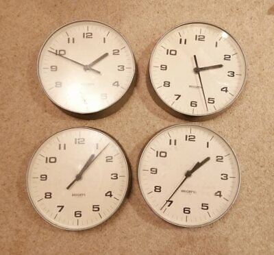 Brights of London slave dials for master clock system AUCTION IS FOR ONE CLOCK
