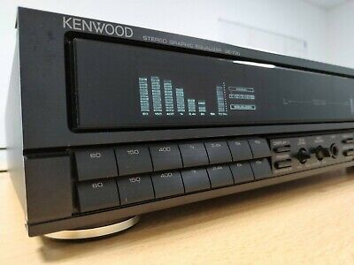 Kenwood GE 730 Graphic-Equalizer. 2x7-Band Stereo, Spectrum-Analyzer, Memo-Fkt.