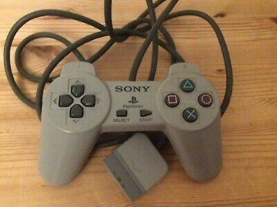 Official Sony Grey PlayStation 1 SCPH-1080  dark Grey Classic Controller