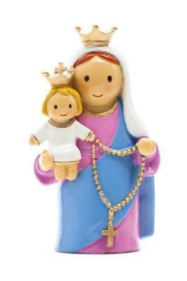 "Mary Our Lady of the Rosary ""Little Drops Of Water"" Statue Figure NEW"