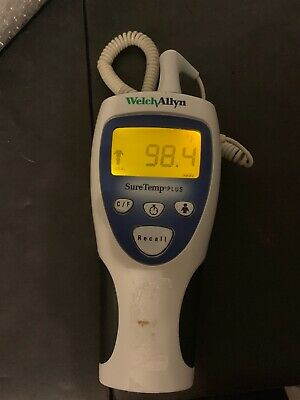 Welch Allyn SureTemp Plus 692 Medical Digital Thermometer with Oral Probe