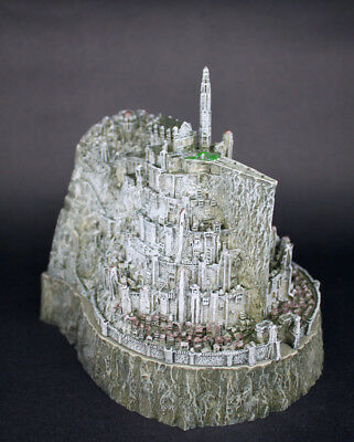 Lord of The Rings Minas Tirith Capital of Gondor Ashtray Resin statue Model