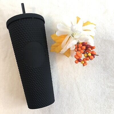 Starbucks Fall 2019 Limited Edition Studded Tumbler Cup - Matte Black 24 Oz