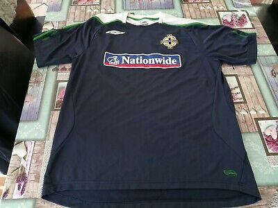 Northern Ireland Umbro Training Shirt Size XLarge Used