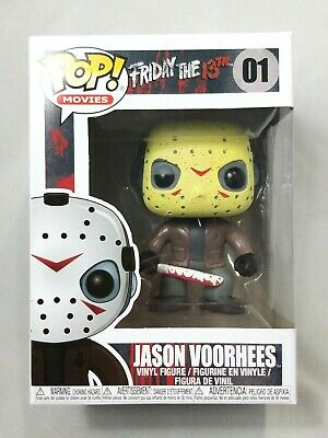 Funko Pop Movies: Friday the 13th - Jason Voorhees Vinyl Figure 01 W / Protector
