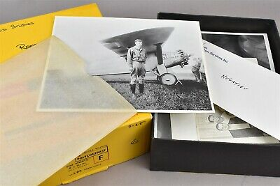 Aviation Pilot Flying Airplane Photos One With Charles Lindbergh Box Of 35