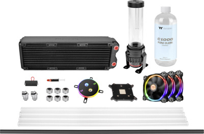 Thermaltake Water Cooling Pacific M360 DIY Liquid cooling NEW