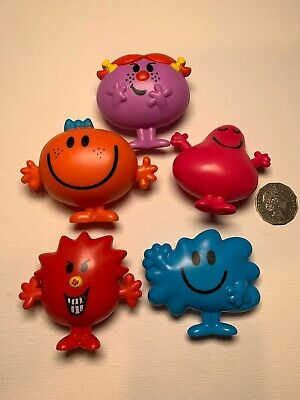 5 mcdonalds toys. Mr men Mrs Men. 2017. Happy Meal