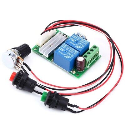 6v-24v Adjustable Dc Reversible Motor Speed Regulator Controller Pwm *F5