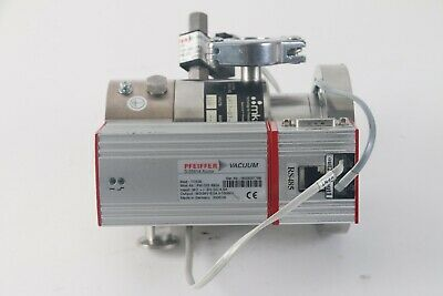 Pfeiffer TMU 071-003 P Turbo Pump W/TC100 Controller and PM Z01 253G Cooling Fan