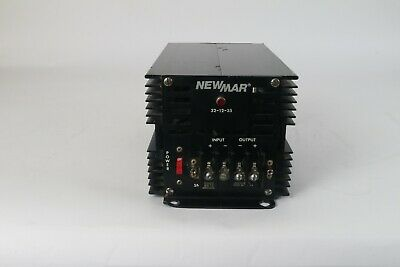 NEWMAR 32-12-35 DC-DC Voltage Converter 20-50 VDC to 13.6 vdc 35 AMPS AS IS