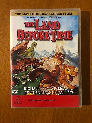 The Land Before Time (G) DVD Pal Free Postage Oz Seller